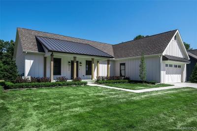 Commerce Twp Single Family Home For Sale: 4276 Ascott Lane