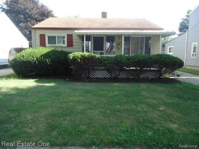 Taylor Single Family Home For Sale: 20539 Champaign Street