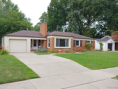 Dearborn Single Family Home For Sale: 20725 Audette Street
