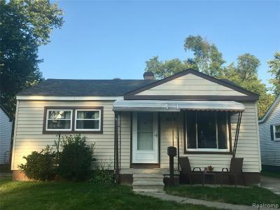 Taylor Single Family Home For Sale: 5917 Dudley Street