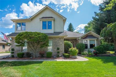 St Clair Shores, Roseville, Fraser, Harrison Twp Single Family Home For Sale: 37850 De Prez Court