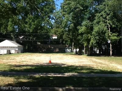 Rochester, Rochester Hills Residential Lots & Land For Sale: 325 Oak Street