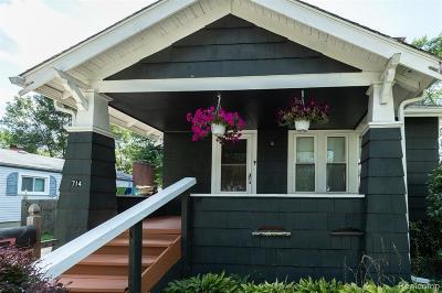 Royal Oak Single Family Home For Sale: 714 S Blair Avenue