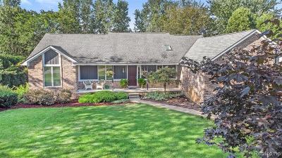Single Family Home For Sale: 11306 Clovis Pointe Drive