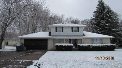 Swartz Creek Single Family Home For Sale: 5238 Birchcrest Drive
