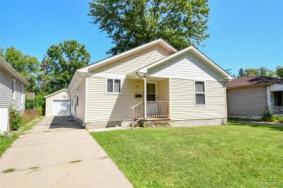 Hazel Park Single Family Home For Sale: 341 E Evelyn Avenue