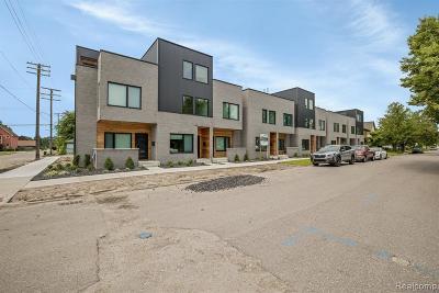 Detroit Condo/Townhouse For Sale: 3303 Cochrane Street #8