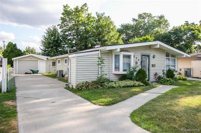 Royal Oak, Ferndale, Berkley, Clawson, Pleasant Ridge Single Family Home For Sale: 698 Goodale Avenue