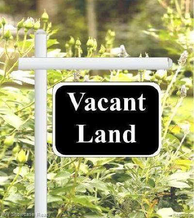 Commerce Twp Residential Lots & Land For Sale: 1880 Cedar Bend Dr