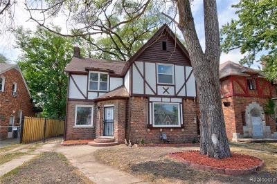 Detroit Single Family Home For Sale: 17159 Santa Barbara Drive