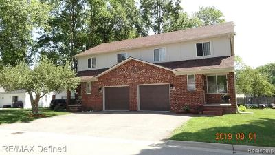 Rochester, Rochester Hills Multi Family Home For Sale: 105 & 107 Hacker Street