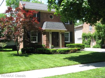Dearborn Single Family Home For Sale: 730 Claremont Street