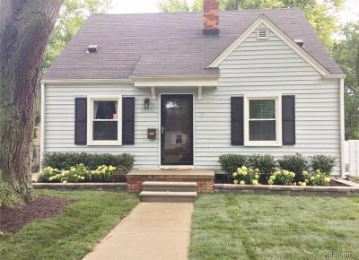 Birmingham Single Family Home For Sale: 1847 Bowers Street