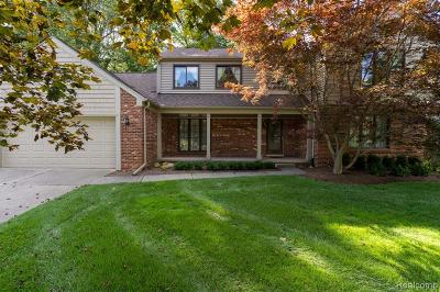 Rochester Hills, Rochester Single Family Home For Sale: 354 Tanglewood Drive