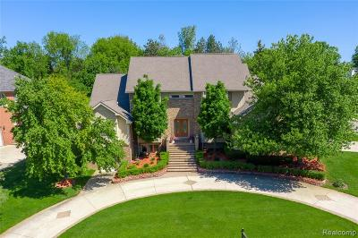 West Bloomfield Twp Single Family Home For Sale: 2030 Birchwood Way