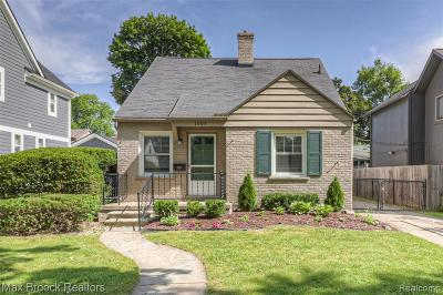Birmingham Single Family Home For Sale: 1007 Chestnut Street