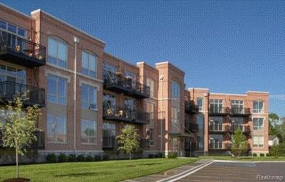 Canton, Plymouth Condo/Townhouse For Sale: 101 S Union Street #319