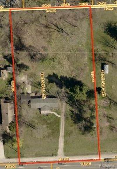 Rochester Hills Residential Lots & Land For Sale: 279 South Boulevard E