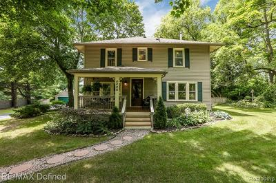 City Of The Vlg Of Clarkston, Clarkston, Independence Twp Single Family Home For Sale: 4406 Rohr Road