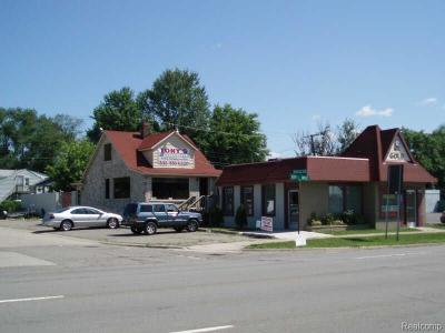 Farmington Hills Commercial For Sale: 27432 W 8 Mile Road