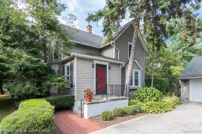 Grosse Pointe Single Family Home For Sale: 516 Notre Dame Street