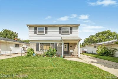 Dearborn Heights Single Family Home For Sale: 4209 Pelham Street