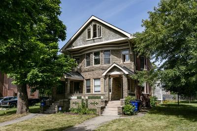 Detroit Condo/Townhouse For Sale: 529 E Kirby Street