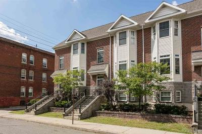 Detroit Condo/Townhouse For Sale: 1516 W Canfield Street