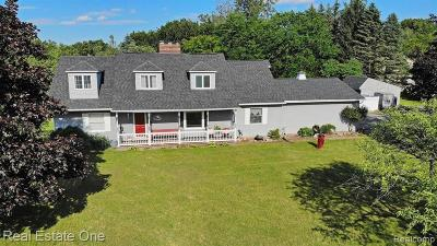 Oakland County Single Family Home For Sale: 3387 Reese Road
