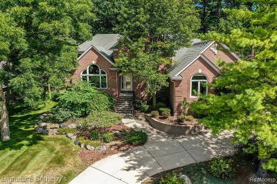 Washington Twp Single Family Home For Sale: 5491 Crystal Creek Lane