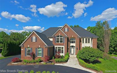 West Bloomfield Single Family Home For Sale: 6629 Chelsea Bridge