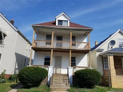 Hamtramck Multi Family Home For Sale: 3403 Edwin Street