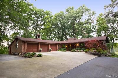 Hartland Twp Single Family Home For Sale: 3333 Cullen Road