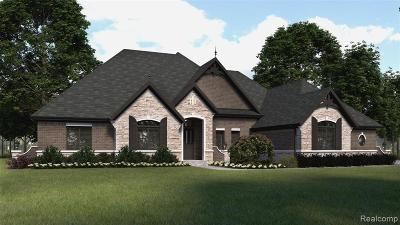 Bloomfield Twp Single Family Home For Sale: Lot 46 Bataan Drive