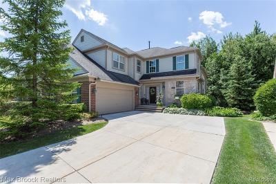 Rochester Hills Condo/Townhouse For Sale: 2429 Winding Brook Court