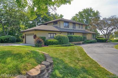 Single Family Home For Sale: 9297 Robinwood Drive