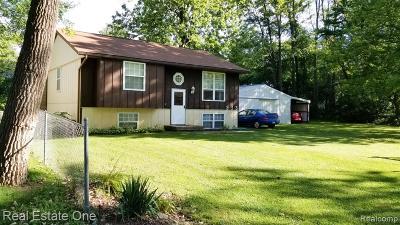 Clarkston, Oxford Twp, Oxford Vlg, Metamora Twp, Lake Orion Vlg, Lake Orion, Orion Twp Single Family Home For Sale: 933 Orion