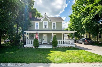 Ortonville Single Family Home For Sale: 162 South Street