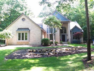 Milford Twp Single Family Home For Sale: 1398 Timber Ridge Court