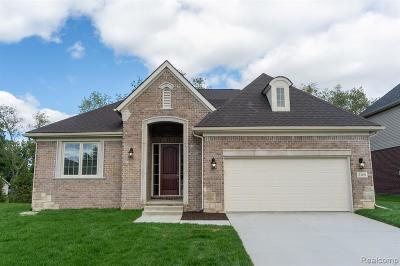 Commerce Twp Single Family Home For Sale: 3168 Fortune Lane