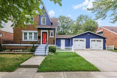Lincoln Park Single Family Home For Sale: 1025 Merrill Avenue