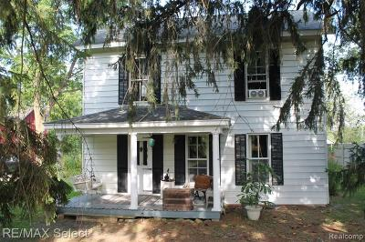 Single Family Home For Sale: 813 Milford Road