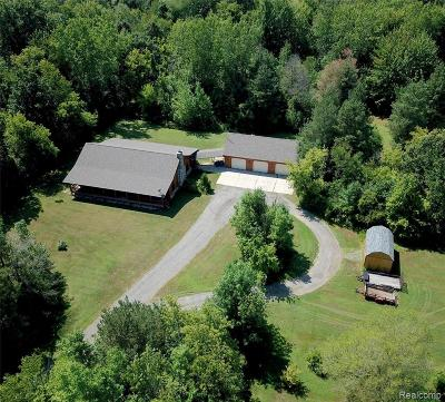 Single Family Home For Sale: 7190 Sharp Road
