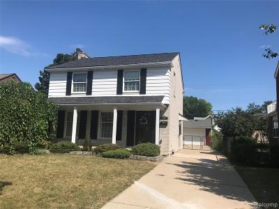 Dearborn Single Family Home For Sale: 23902 Oak Street