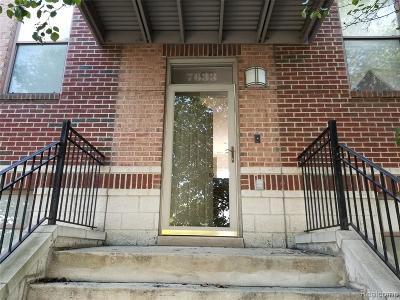 Detroit Condo/Townhouse For Sale: 7633 Woodward Avenue