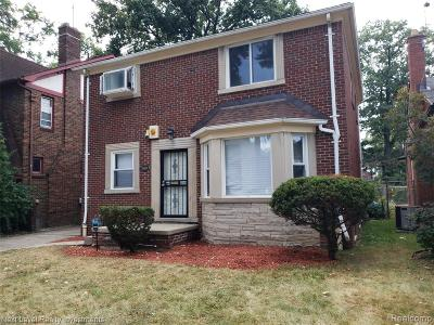 Detroit Single Family Home For Sale: 17607 Monica Street