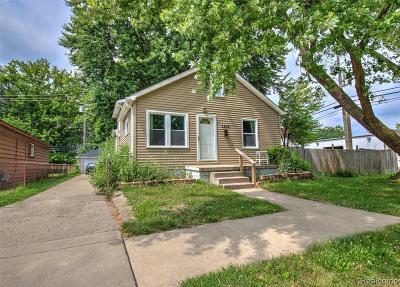 Taylor Single Family Home For Sale: 5836 Polk Street
