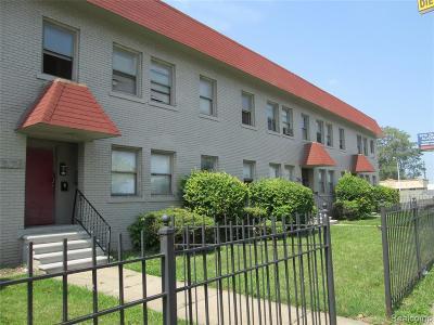 Detroit Multi Family Home For Sale: 7575-7579 Chrysler Drive