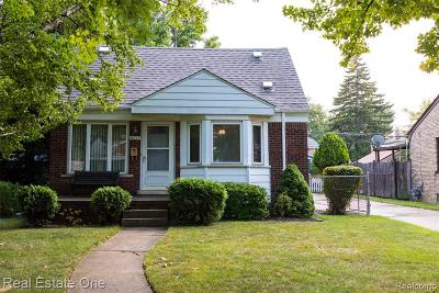 Oakland County, Macomb County, Wayne County Single Family Home For Sale: 14637 Anne Avenue