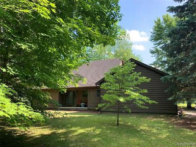 Oakland County Single Family Home For Sale: 56275 Nine Mile Road